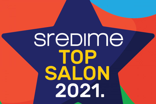Nagrada SrediMe Top Salon 2021.